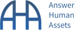 Answer Human Assets (AHA) Logo